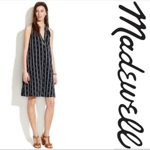 Madewell Ikat Stripe Dress